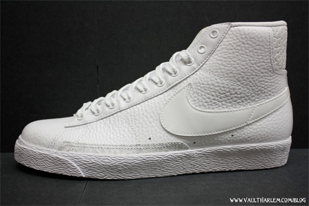 nike blazer high white