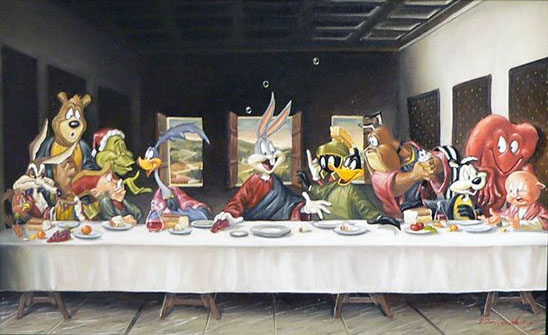 bugs-bunny-last-supper
